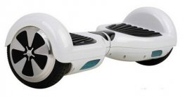 Hovex Classic Hoverboard weiß mit LED