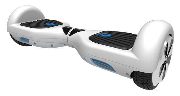 IO Hawk Hoverboard Front in Weiss