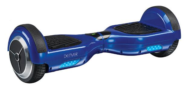 Denver DBO 6550 Hoverboard in Blau mit LED Leuchten