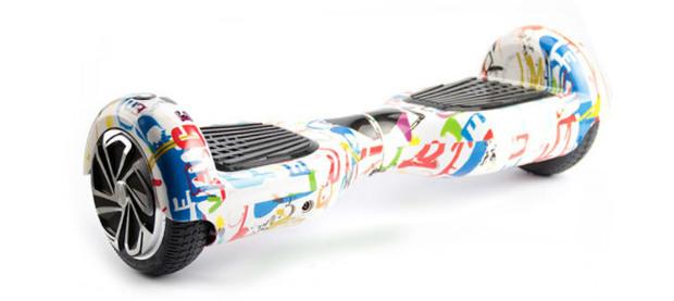 flitzer hoverboard klassik mit 6 5 zoll reifen auf. Black Bedroom Furniture Sets. Home Design Ideas
