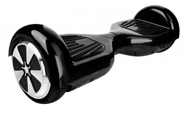 Flitzer Hoverboard Klassik mit 6,5 Zoll Reifen in Schwarz