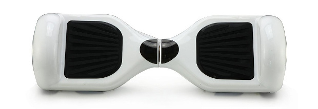 Flitzer Hoverboard Klassik in Weiß mit 6,5 Zoll großen Reifen